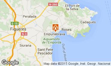 Karte Empuriabrava Villa 53410