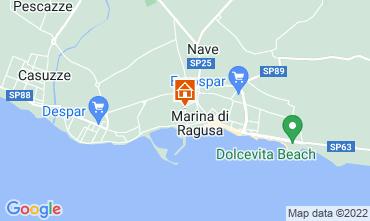 Karte Marina di Ragusa Appartement 92176