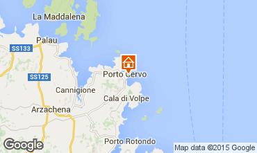 Karte Porto Cervo Appartement 95854