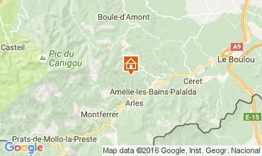 Karte Amélie-Les-Bains Studio 92940