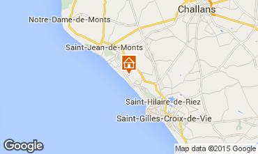 Karte Saint Jean de Monts Mobil-Home 60835