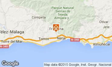 Karte Nerja Ferienunterkunft auf dem Land 57969