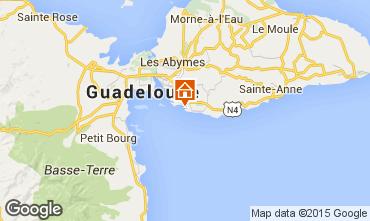 Karte Gosier (Guadeloupe) Studio 101387