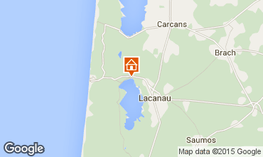 Karte Lacanau Studio 93016