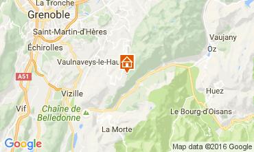 Karte Chamrousse Appartement 107300