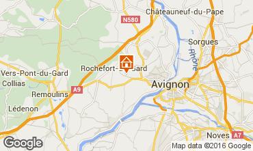 Karte Villeneuve lez Avignon Villa 103227