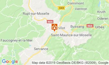 Karte La Bresse Hohneck Chalet 4531