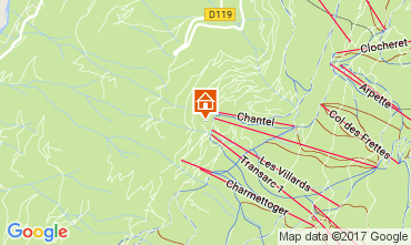 Karte Les Arcs Appartement 101855
