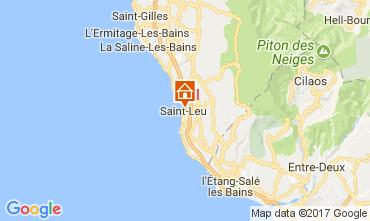Karte Saint Leu Ferienunterkunft auf dem Land 112251