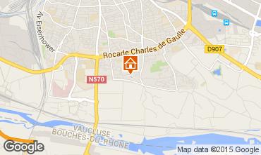 Karte Avignon Appartement 100369