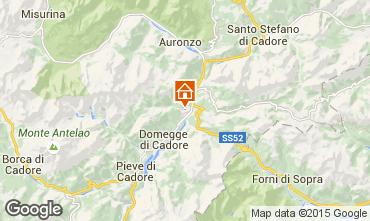 Karte Auronzo di Cadore Appartement 85967