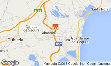 Karte Alicante Appartement 97224