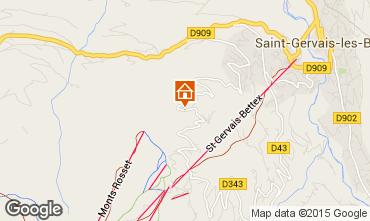 Karte Saint Gervais Mont-Blanc Chalet 68082