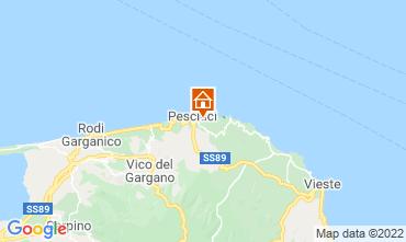 Karte Peschici Appartement 76980
