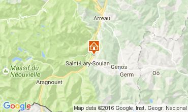 Karte Saint Lary Soulan Villa 81833