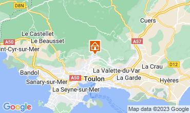 Karte Toulon Appartement 25566