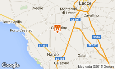 Karte Porto Cesareo Appartement 62353
