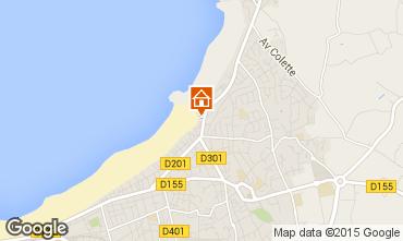 Karte Saint Malo Appartement 83353