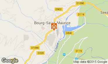 Karte Bourg Saint Maurice Studio 239