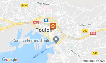 Karte Toulon Studio 92574