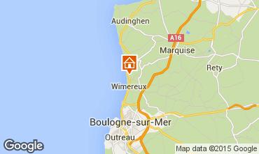 Karte Wimereux Appartement 52935