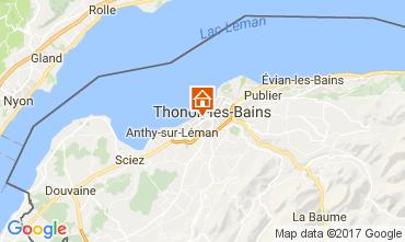 Karte Thonon Les Bains Studio 108306