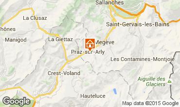 Karte Megève Chalet 99490