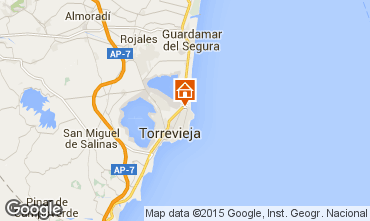Karte Torrevieja Appartement 75777