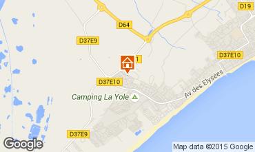 Karte Valras-Plage Villa 89478