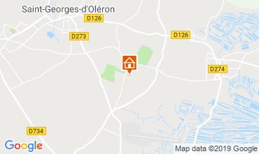 Karte Saint Pierre d'Oléron Mobil-Home 6884