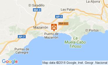 Karte Puerto de Mazarrón Villa 113062
