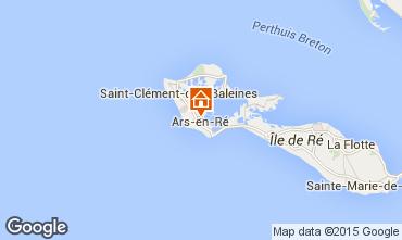 Karte Ars en Ré Haus 6972