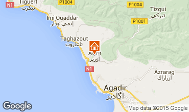 Karte Taghazout Appartement 74732