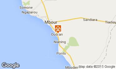 Karte Mbour Villa 77706