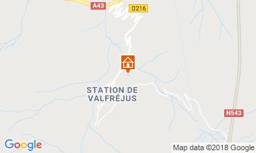 Karte Valfréjus Appartement 74342