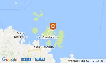 Karte La Maddalena Villa 98901