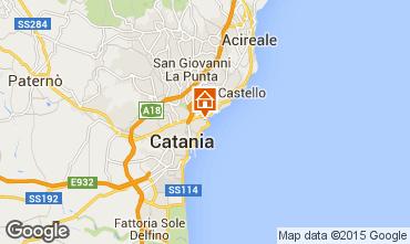 Karte Catania Appartement 31264