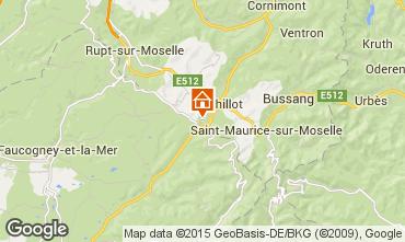 Karte La Bresse Hohneck Appartement 4533