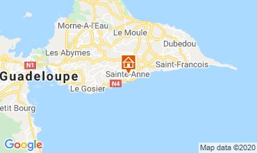 Karte Sainte Anne (Guadeloupe) Bungalow 70986