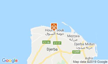 Karte Djerba Appartement 53348
