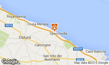 Karte Ostuni Villa 42028