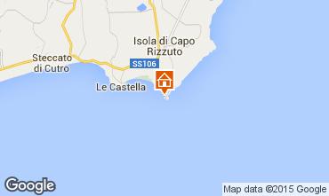 Karte Isola di Capo Rizzuto Appartement 63782