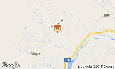 Karte Flattach Chalet 63836