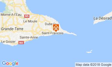 Karte Saint Francois Appartement 114412