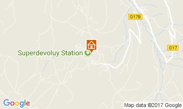 Karte Superdévoluy- La Joue du Loup Appartement 112256