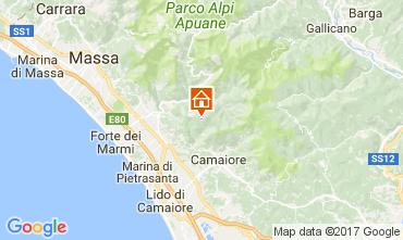 Karte Camaiore Appartement 108494