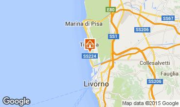 Karte Tirrenia Appartement 96554