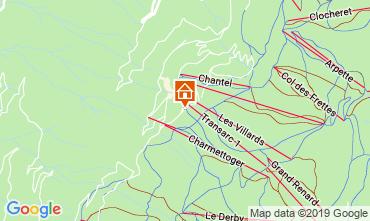 Karte Les Arcs Appartement 57958