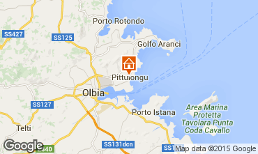 Karte Olbia Appartement 100077