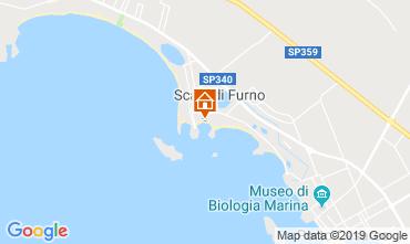 Karte Porto Cesareo Appartement 119619